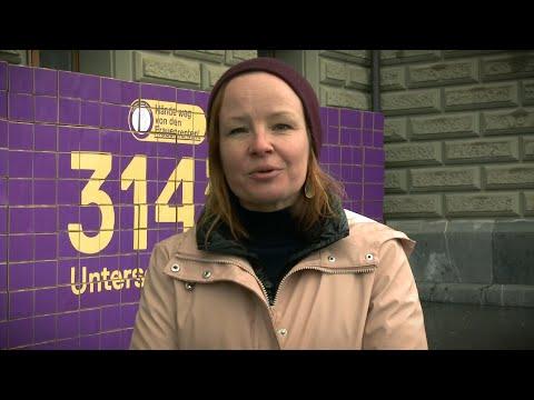 Hände weg von den Frauenrenten! 314'187 Unterschriften übergeben